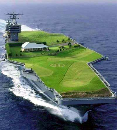 aircraft carrier et piste